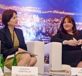 Carmen Castillo y Paula Forttes