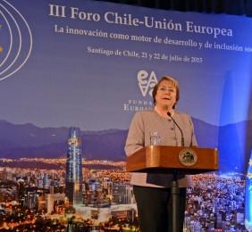 Intervención de Michelle Bachelet