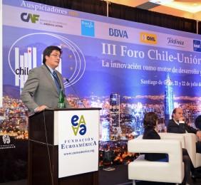 Subsecretario Pedro Huichalaf