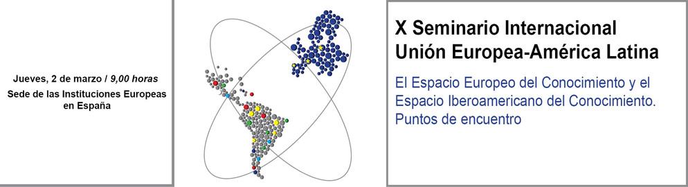 X Seminario Unión Europea-América Latina