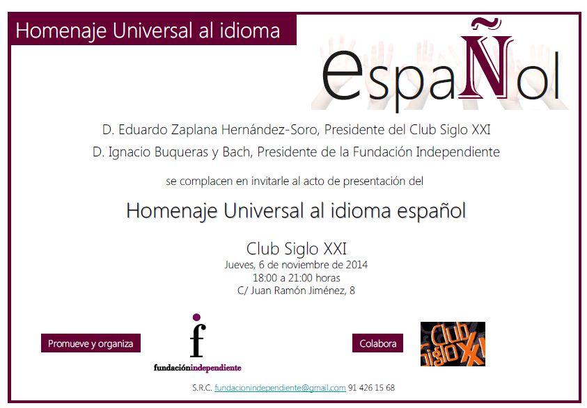 Homenaje al Español